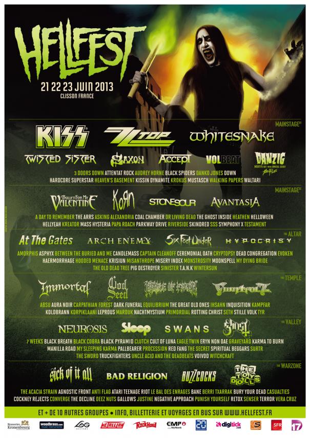Hellfest Festival France 2013