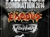 2014 Thrash Domination Festival, Japan