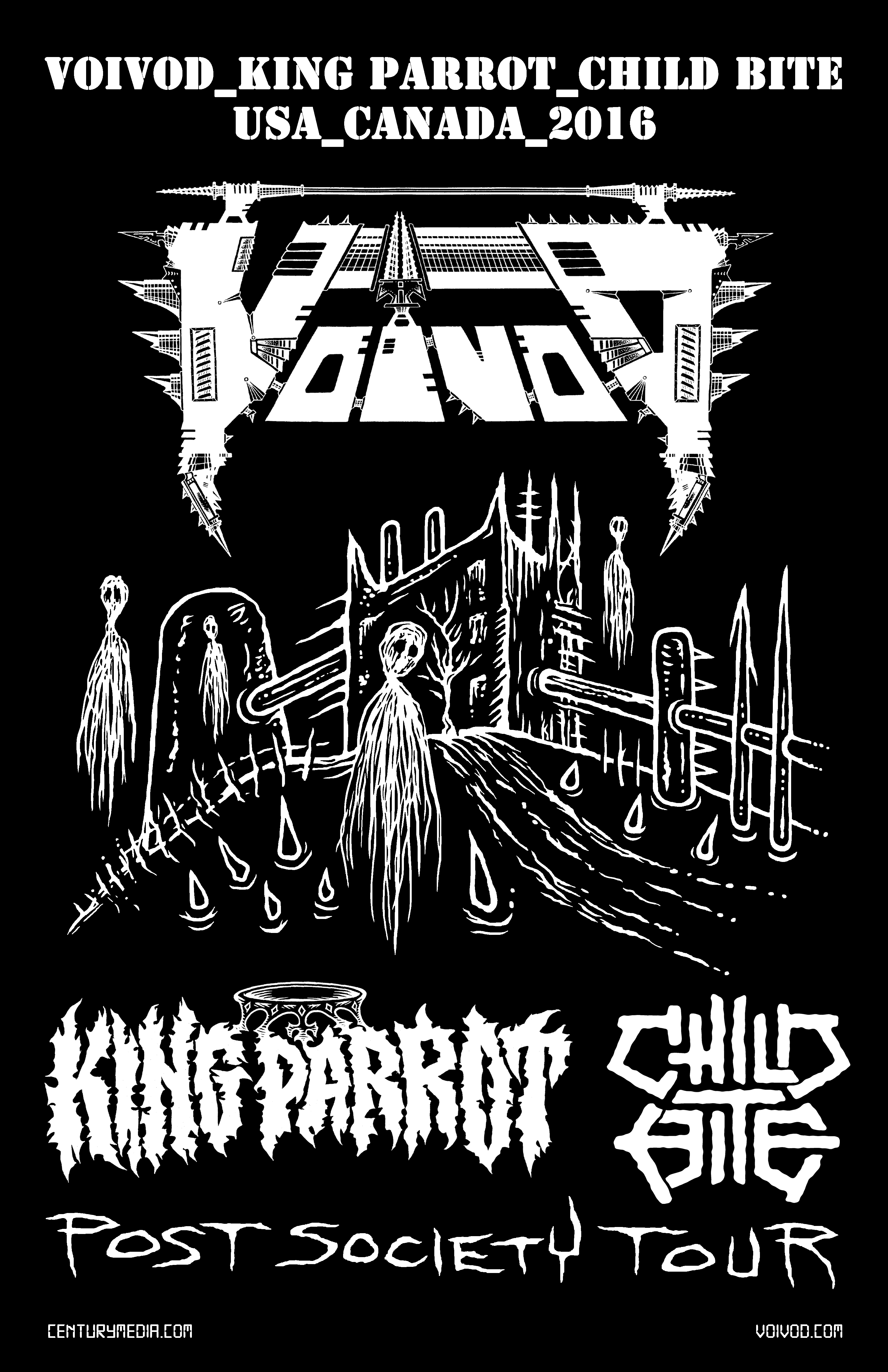 voivod-usa-canada-2016-poster