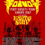 2017.08.21 – VOIVOD – Announce European dates for September
