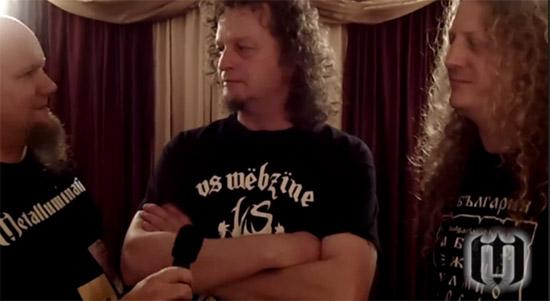 2012.11.17 - Voivod interviewed by the Metalluminati